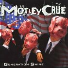 Motley Crue - Generation Swine - Motley Crue CD SQVG The Fast Free Shipping