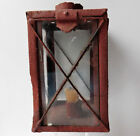 Antique driving candle lamp for horse drawn cart carriage lantern Victorian