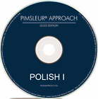 Pimsleur POLISH I Gold Edition Complete Set 16 CDs Pimsleur Approach