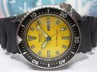 SEIKO 150M DIVERS DAY/DATE AUTOMATIC MEN'S WATCH 6309-729A, YELLOW (FEB 1987)