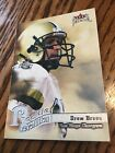 Drew Brees Rookie Cards Checklist and Autographed Memorabilia Guide 30