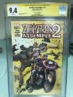 Zombies Assemble 2 #1 Stan Lee Box Cgc Ss 9.4 Variant Rare