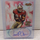 2001 Bowman's Best #BB-TO Terrell Owens San Francisco 49ers ON CARD Auto