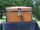Antique Trunk Great Restoration  Pat'd 1872/1877   As Much As 142 Yrs Old!