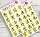 Nuclear Radioactive Toxic Stickers Scrapbook Planners Diary Crafts Models Precut