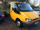 Ford transit chassis Cab very clean tipper recovery