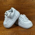 Nike Air Force 1 Low Toddlers Size 3C Athletic Sneaker Shoes Leather White