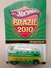 2010 Hot Wheels Brazil Collector Convention VW Drag Bus 4138 of 5000