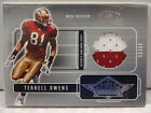 Terrell Owens Rookie Cards and Autographed Memorabilia Guide 12