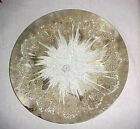VINTAGE DOROTHY C THORPE PLATE CHARGER 12 3/4 IN MCM ART GLASS STERLING SILVER