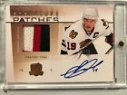 Jonathan Toews Cards, Rookie Cards Checklist, Autographed Memorabilia Guide 18