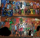 Huge mixed action figure lot