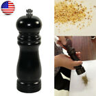 New Wooden Manual Salt Pepper Grinder Mill Stainless Steel Kitchen Tools Cooking