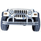 Rugged Ridge 1152101 Defender Front Bumper Stainless Steel Jeep CJ