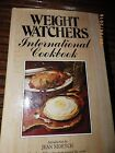 Vintage Weight Watchers International Cookbook Jean Nidetch 1977 HC DJ Illustrat
