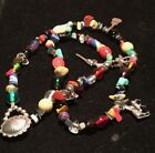 Native Tribal Southwestern Treasure Necklace Loaded with 925 Charms Verdy Jake