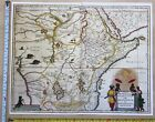Historic Antique vintage Blaeu Map of East and Central Africa 1600's: REPRINT