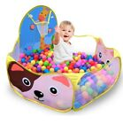 Childrens Toys Tent Balls Baby Play Pool With Basket Outdoor Game Tent for Kids