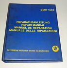Workshop Manual BMW New Class Saloon Type 115 116 118 120 Stand 11/1966