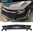 Fits 16 21 Chevy Camaro ZL1 1LE Style Front Bumper Upper Grille Black PP