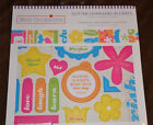 NEW Best Occasions Glitter Chipboard Accents Beautiful Scrapbook 85 X 11pgs