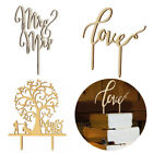 Romantic MrMrs Cake Topper Wedding Love Party Top Letter Decor Anniversary new