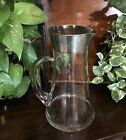 Dorothy Thorpe Vintage Wide Banded Silver Allegro Cocktail Pitcher FREE shipping