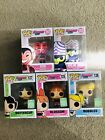 Funko Pop Powerpuff Girls Set Of 5 (SDCC 2016) Bubbles, Buttercup, Blossom, Him