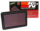 K&N Replacement Drop In Panel Air Filter for 2014-2018 Rogue & X-Trail 2.5L