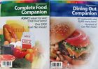 Weight Watchers Complete Food  Dining Out Companion Book Set TurnAround Program