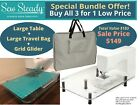 Brother Sew Steady 18x24 Large Extension Table Bag Grid - Choose Model