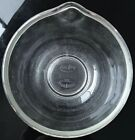 Vintage Fire King for Sunbeam Glass Mixing Bowl Pebble Bottom 6-1/2