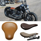 Motorcycle Solo Driver Seats Leather Classic 6 Style For Yamaha Road Star Bobber