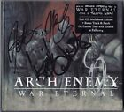 ARCH ENEMY War Eternal FULLY SIGNED Alissa White-Gluz Michael Amott +3 AUTOGRAPH
