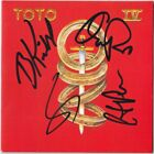 TOTO IV Bobby Kimball Steve Lukather David Paich Porcaro Africa Autograph SIGNED