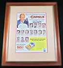 Mickey Mantle NY Yankees Signed Autographed 11x14 Camel Cigarettes Ad - LOA
