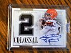 Johnny Manziel Signs Exclusive Autographed Memorabilia Deal with Panini Authentic 12