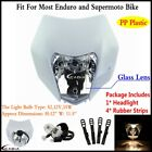 White Motorcross Dirt Bike Headlight Fairing For KTM EXC MXC 125 200 250 300 350