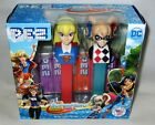 DC SUPER HERO GIRLS 2 Pack  HARLEY QUINN & SUPER GIRL  Includes 6 rolls of candy