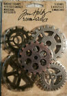 Tim Holtz Idea ology 5 Gadget Gears TH93297 Mixed Media Assemblage Art Metal