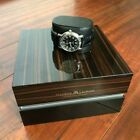 Maurice Lacroix Pontos Automatic Date 68775 Black Leather Sapphire Glass
