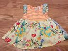Matilda Jane Once Upon A Time Bold And Bright Floral Tunic Size 4