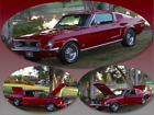 1968 Ford Mustang 1968 Ford Mustang Fastback REAL GT J CODE PS PB Power Disc Brakes AC