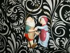 NICE! VINTAGE 1988 HALLMARK ORNAMENT, MR. & MRS.CLAUS 3RD IN SERIES NO BOX T9621