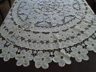 Vintage Round Tablecloth by Imperial Elegance Cotton blends Elegant Cottage Chic
