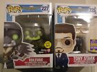 SDCC SUMMER GAMESPOT EXCLUSIVE Funko Pop! Spider-Man TONY STARK and GITD VULTURE