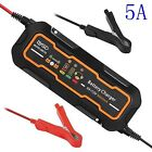 Us 6v12v 3a5a Smart Portable Suv Motorcycle Car Battery Charger Maintainer
