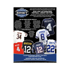 2018 LEAF AUTOGRAPHED FOOTBALL JERSEY - 4 BOX LOT (1 2 CASE)