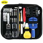 147 Pcs Watchmaker Watch Repair Tool Case Opener  Bar Remover Tool Kit Accessory