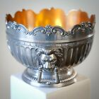 Co. Silver Plated Bowl with Lion's Head Handles